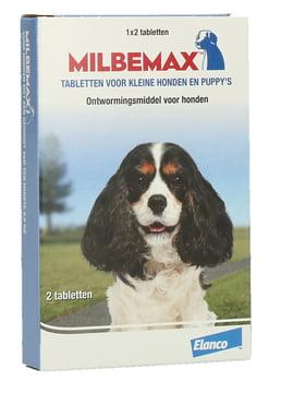 Milbemax Puppy en kleine hondjes 1×2 Tabletten