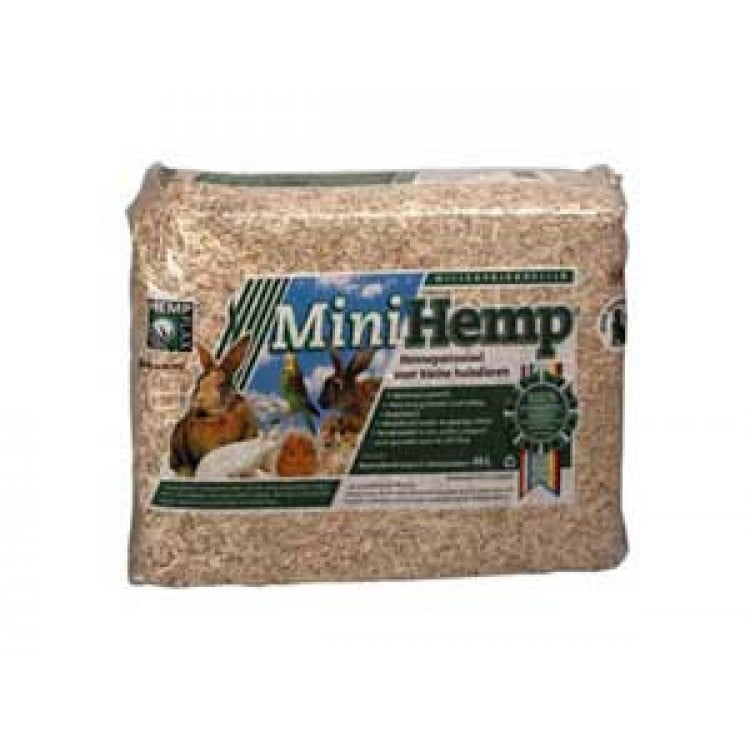 Minihemp Hennepstrooisel 4kg