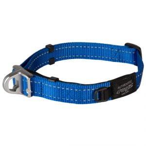 Snake Halsband Safety Collar Blauw -M-