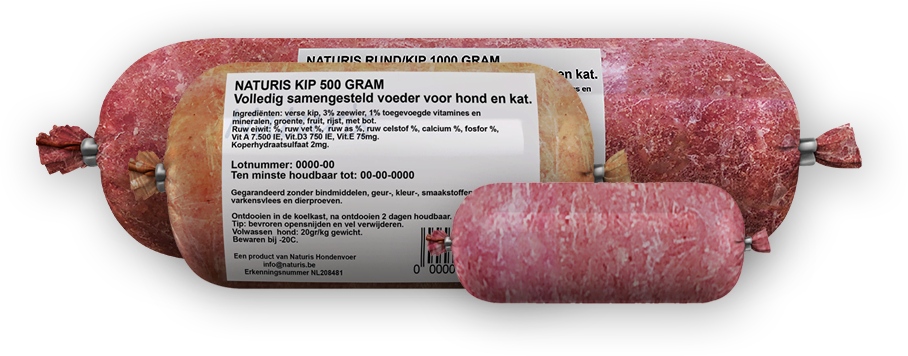 Naturis Kip Compleet kilo