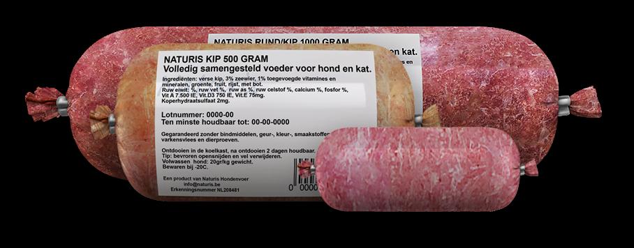 Naturis Kip/Pens Compleet kilo