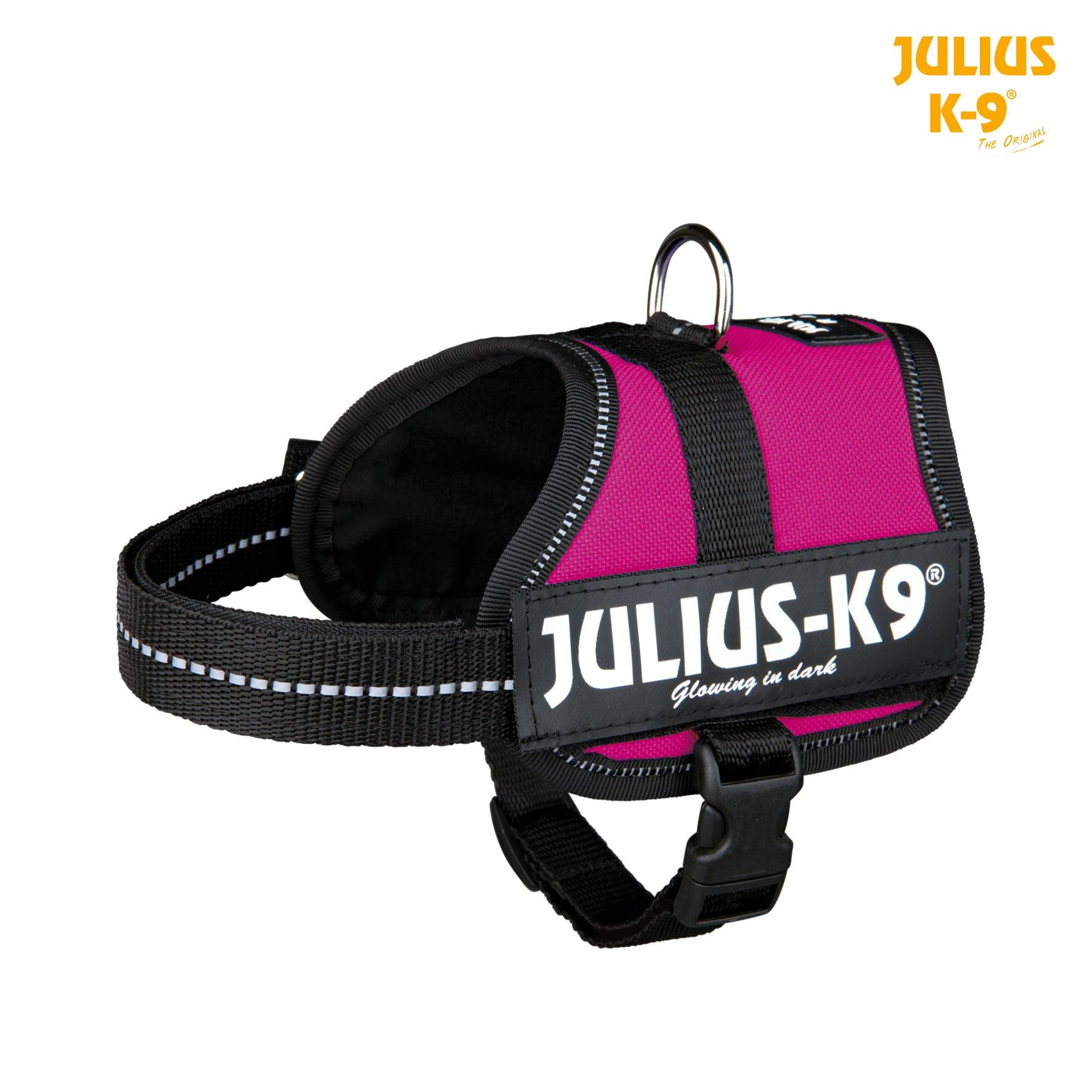 Julius K9 Power Harnas XS-S 33-45cm fuchsia