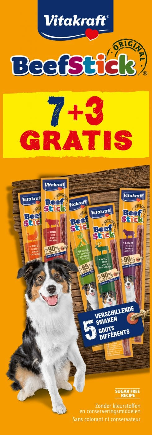 Vitakraft Beefstick multipack 7+3gratis