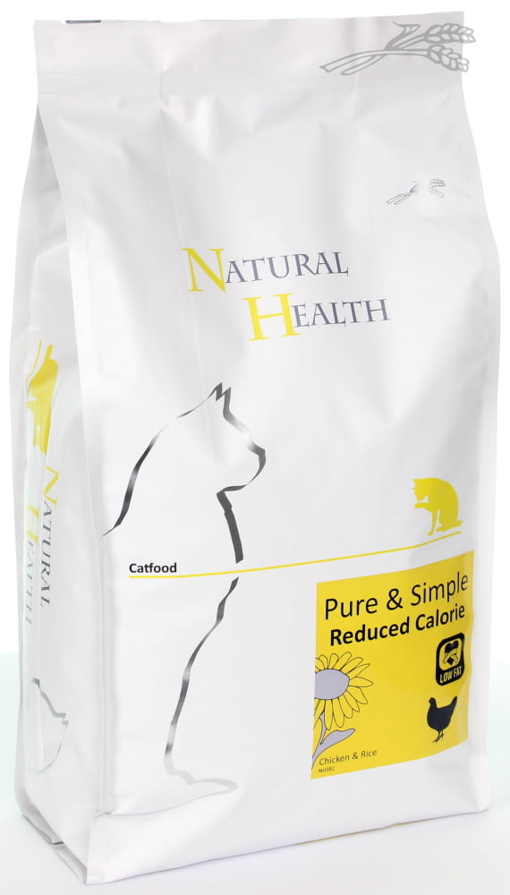 Natural Health Cat Pure & Simple Light 2,5kg