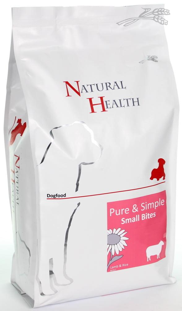 Natural Health Dog Lamb & Rice Small 2,5kg