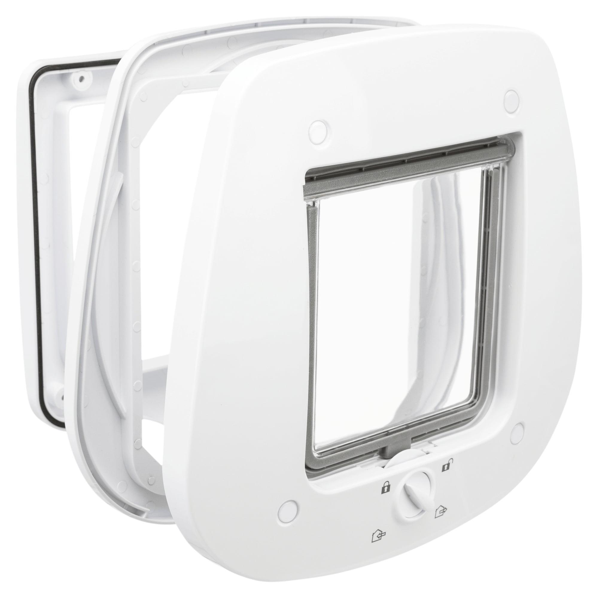 Trixie Huisdierluik 20x22cm Wit Speciaal Voor Glas