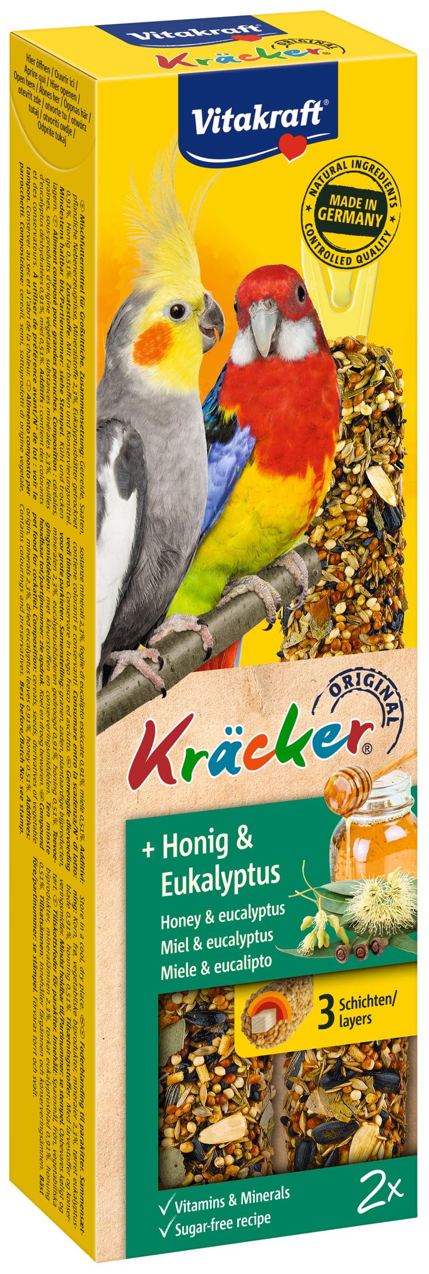 Vita Kracker Valkparkiet honing/eucalyptus