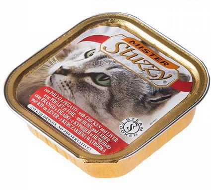 Mister Stuzzy Cat Chicken & Liver 100gr