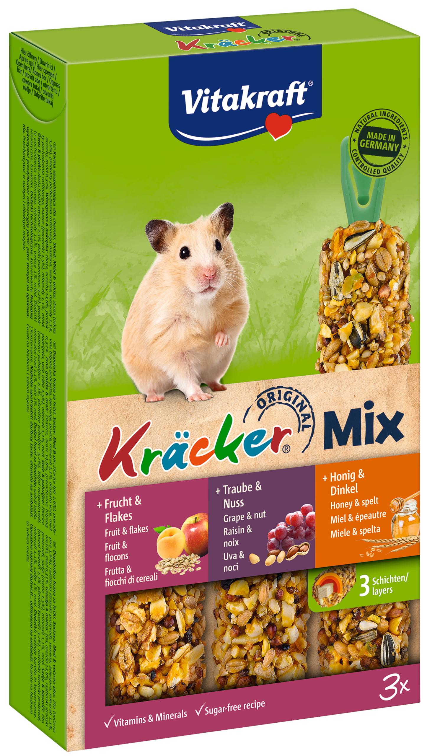 Vita Hamsterkracker Trio Mix Druif/Honing