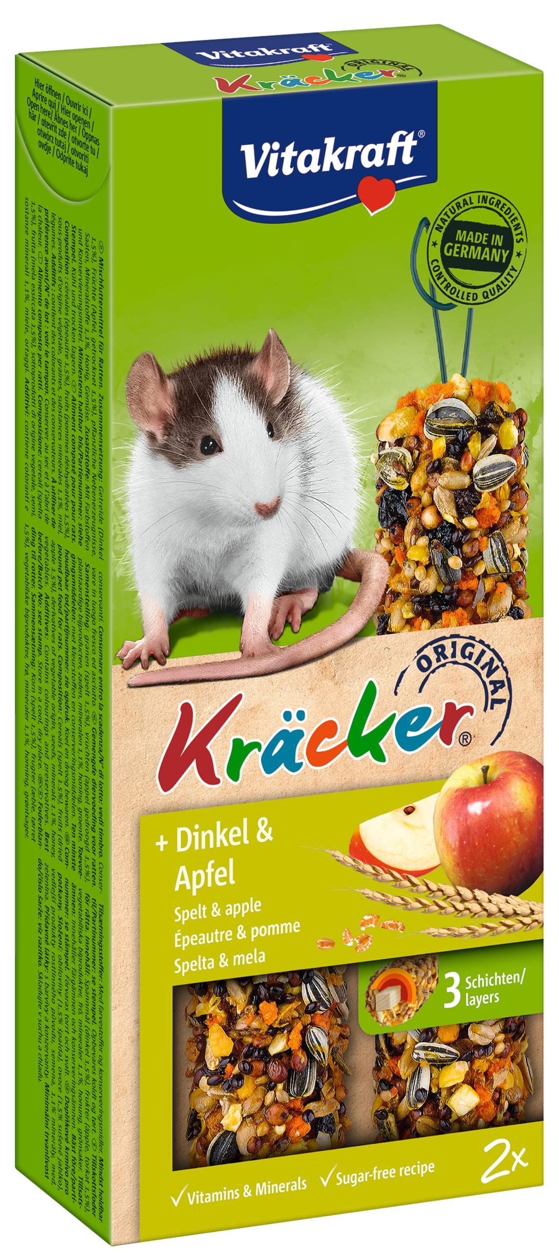Vita Rattenkracker Spelt/Appel 2in1