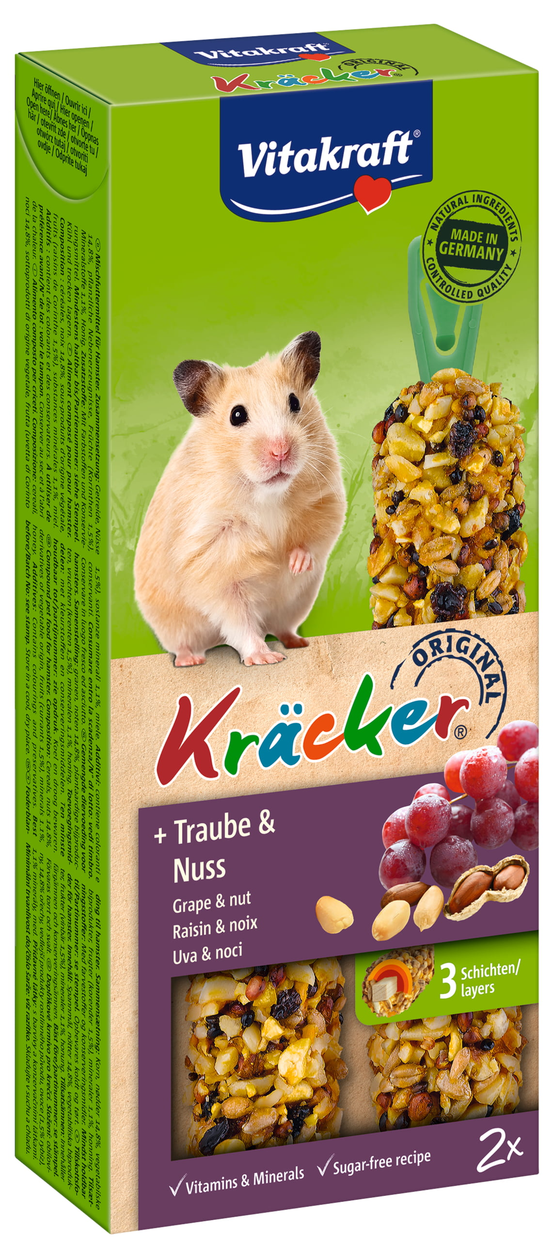 Vita Kracker Hamster 2in1 Noten