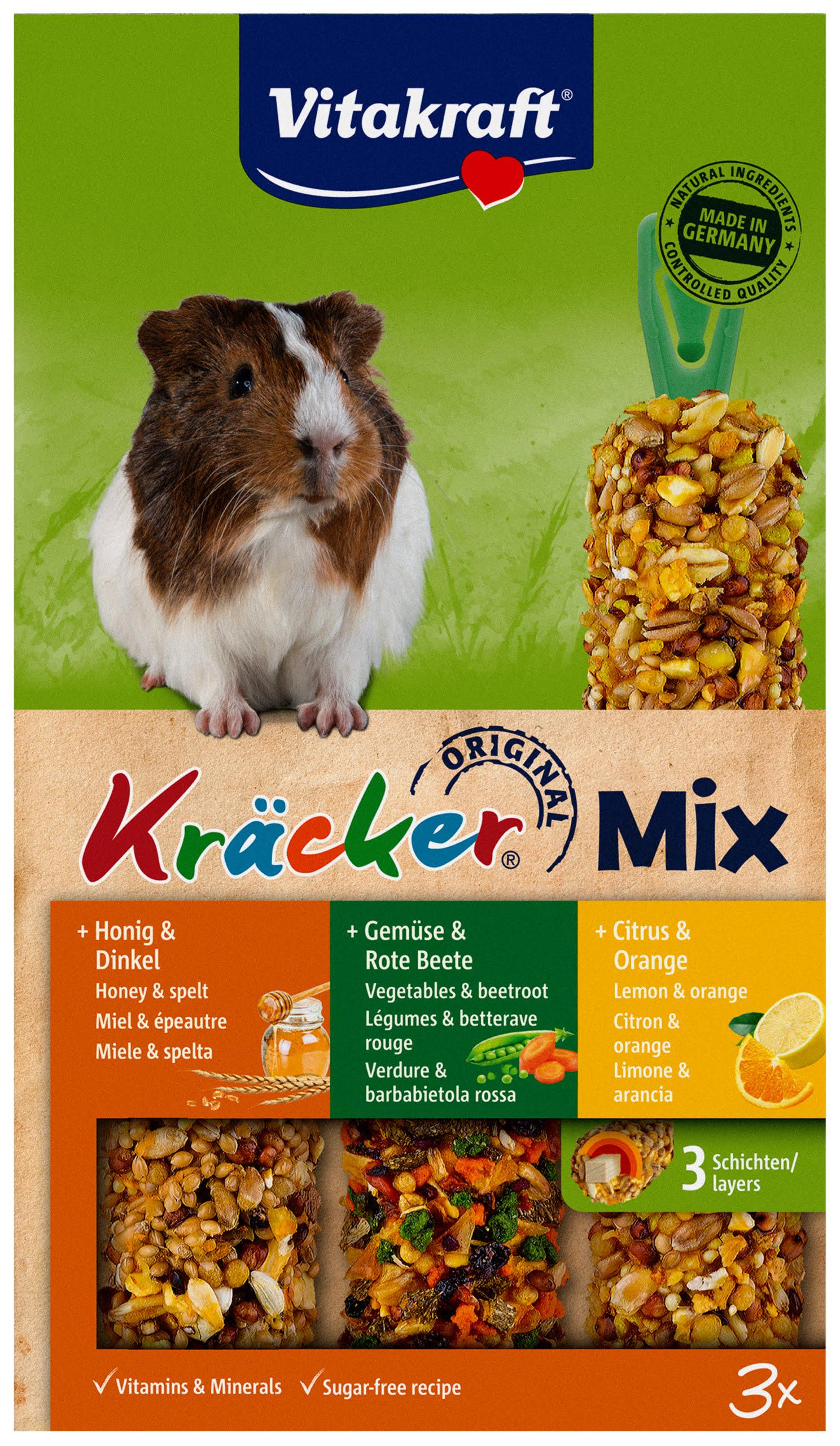 Vita Caviakracker Trio Mix Honing/Groente/Citrus