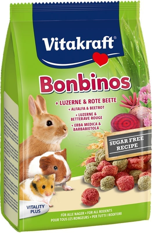 Vita Bonbinos Rode Biet/Alfalfa 50gr.