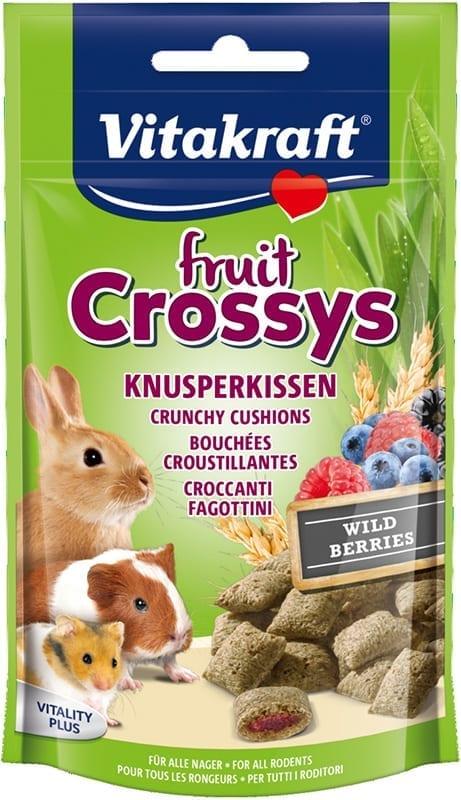 Vita Fruit Crossys 50gr Bosbes