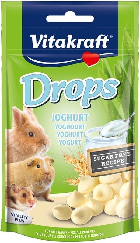 Vitakraft Drops Knaagdier Yoghurt 75gr