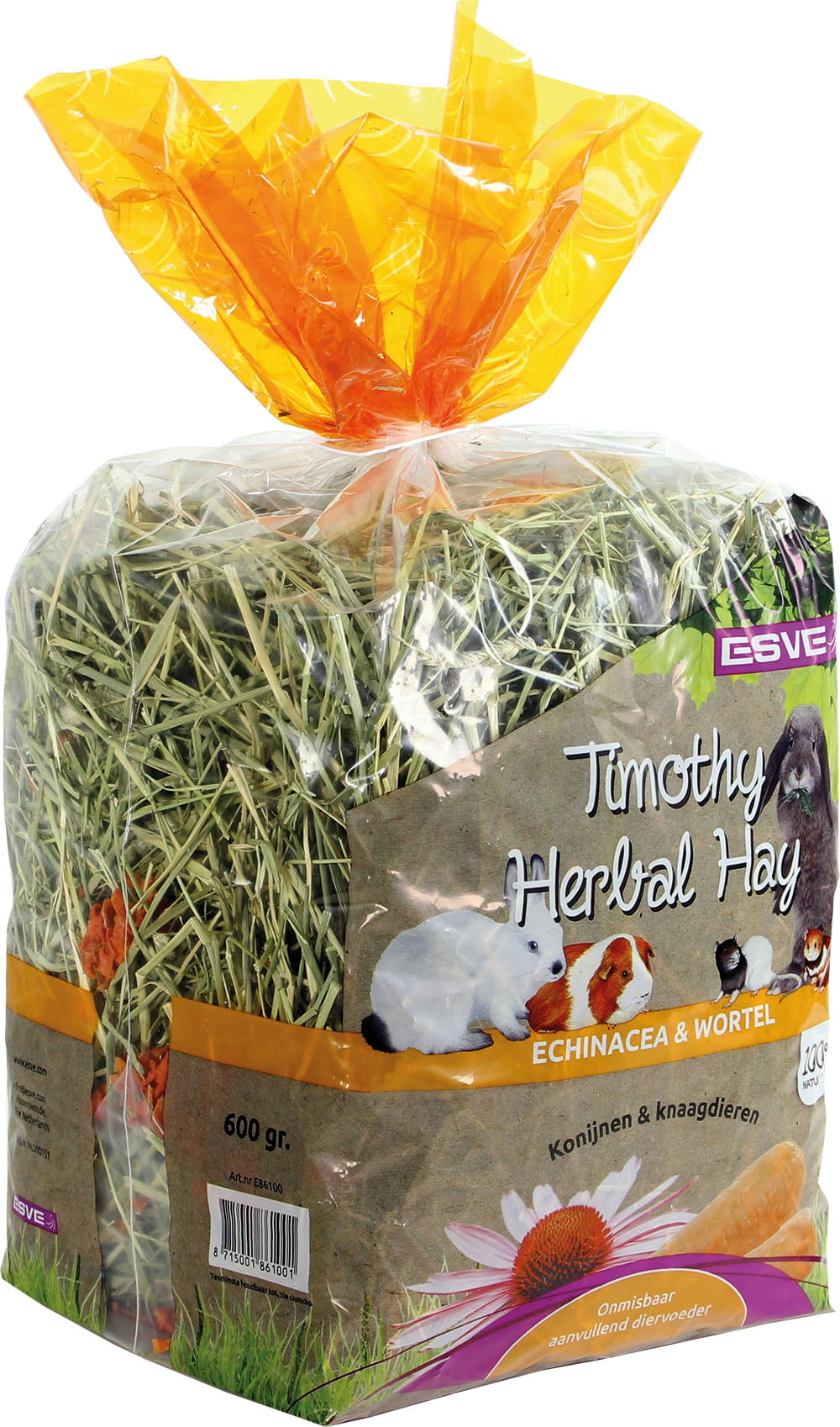 Barn-i Timothy Hay Echinacea&Wortel