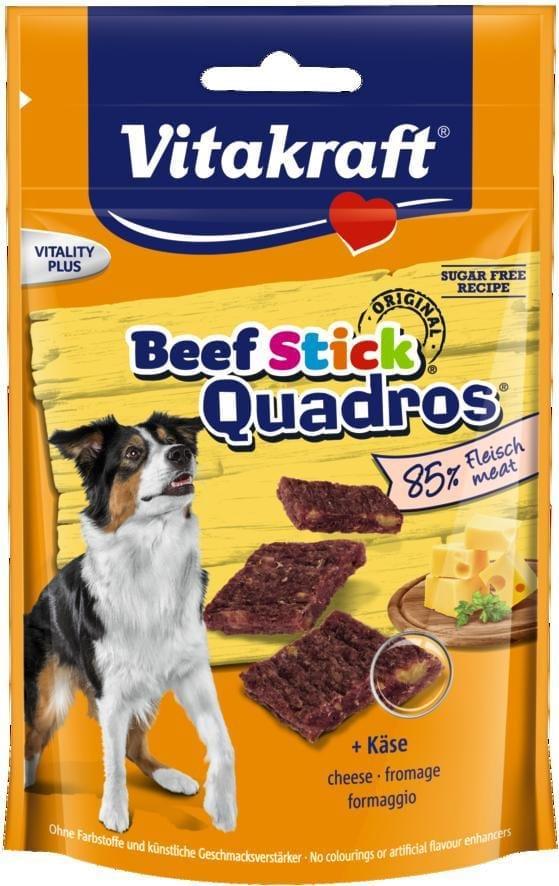Vitakraft Beef Stick Quadros met kaas
