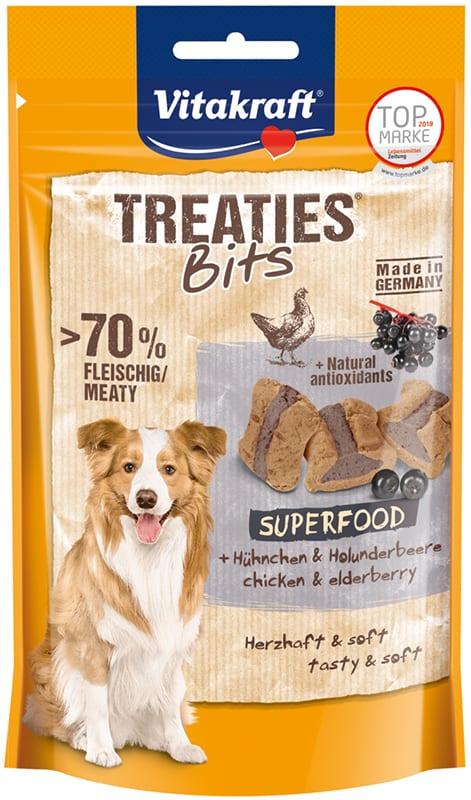 Vitakraft Treaties Bits Superfood met Vlierbessen