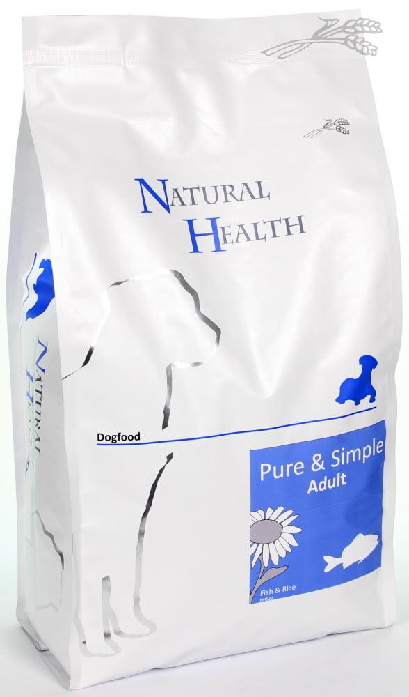 Natural Health Dog Fish & Rice Adult 2,5kg