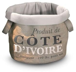 D&D HomeCollection Pet-Bag Coffee Cote Dvoire 35cm