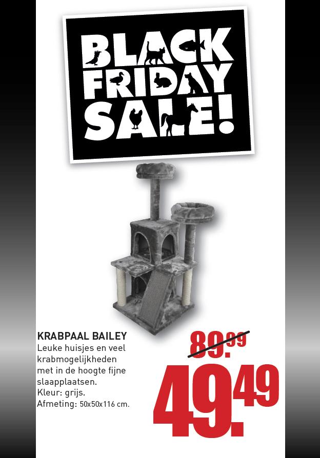 Black Friday Krabpaal Bailey