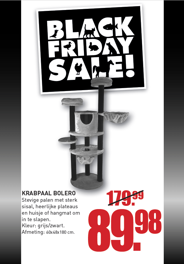 Black Friday Krabpaal Bolero