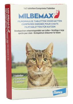 Milbemax Kat 1×2 Tabletten