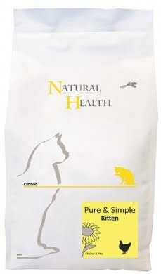 Natural Health Cat Pure & Simple Kitten 2,5kg