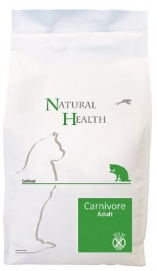 Natural Health Cat Carnivore Adult 2,5kg