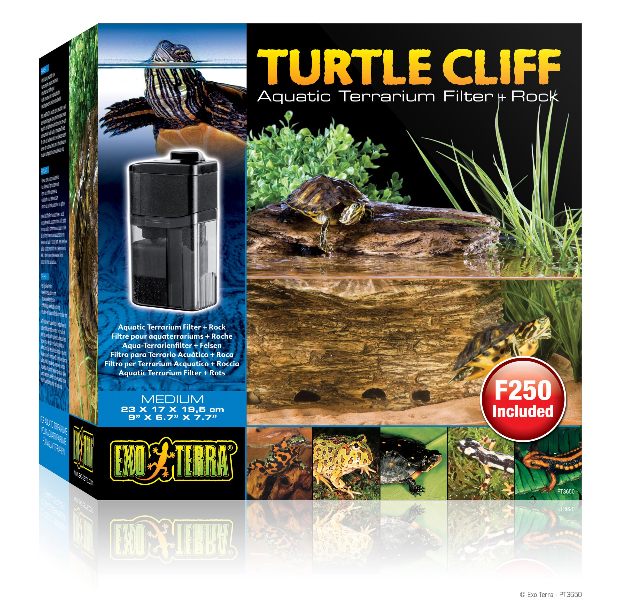 Ex Turtle Cliff Middel Met Filter Pt3610