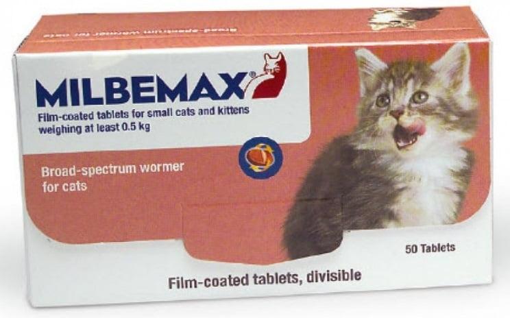 Milbemax Kitten 1×2 Tabletten