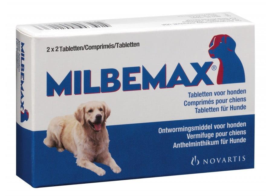 Milbemax Hond 2x2tabl