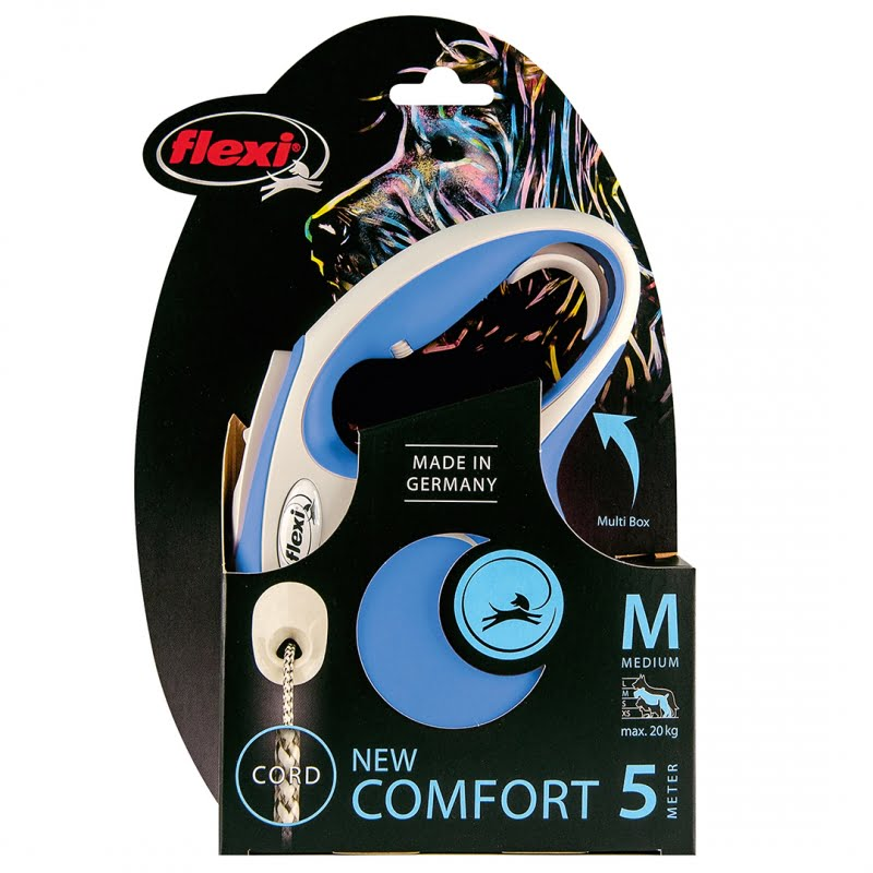 Flexi new comfort koord Blauw M/5M
