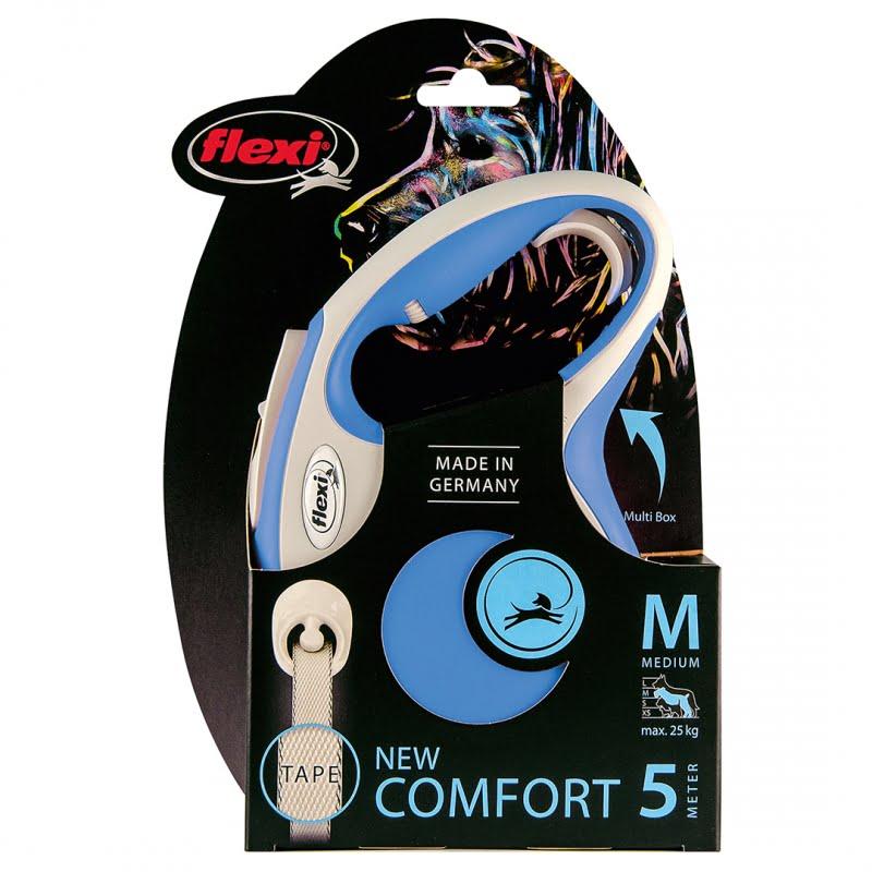 Flexi new comfort Band Blauw M/5M