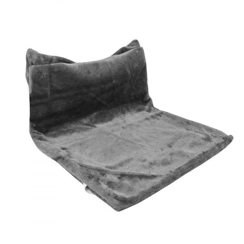 Radiator Hangmat pluche 45x31x26cm grijs