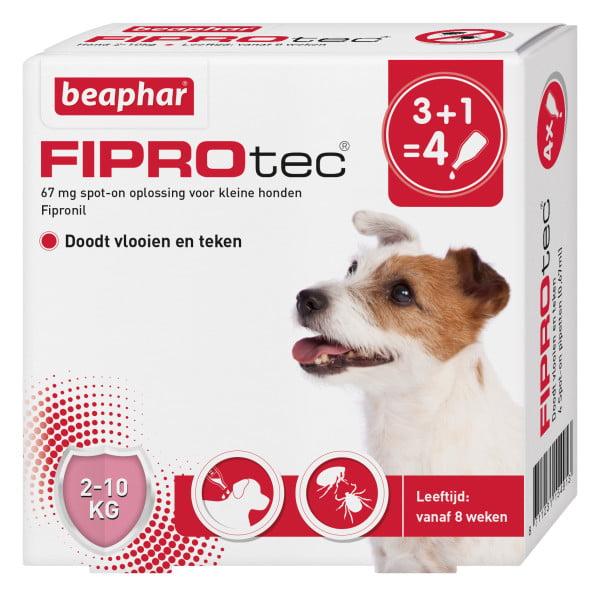 Bea Fiprodog 2-10kg  3+1gratis Pipet