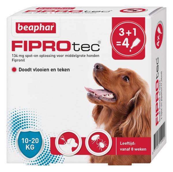 Bea Fiprodog 10-20kg  3+1gratis Pipet