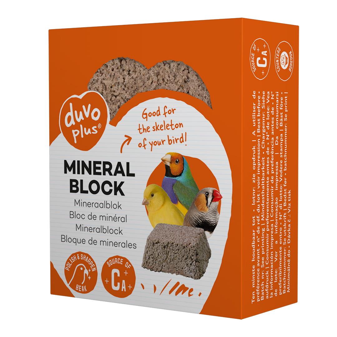 Duvo Mineraalblok 80gr