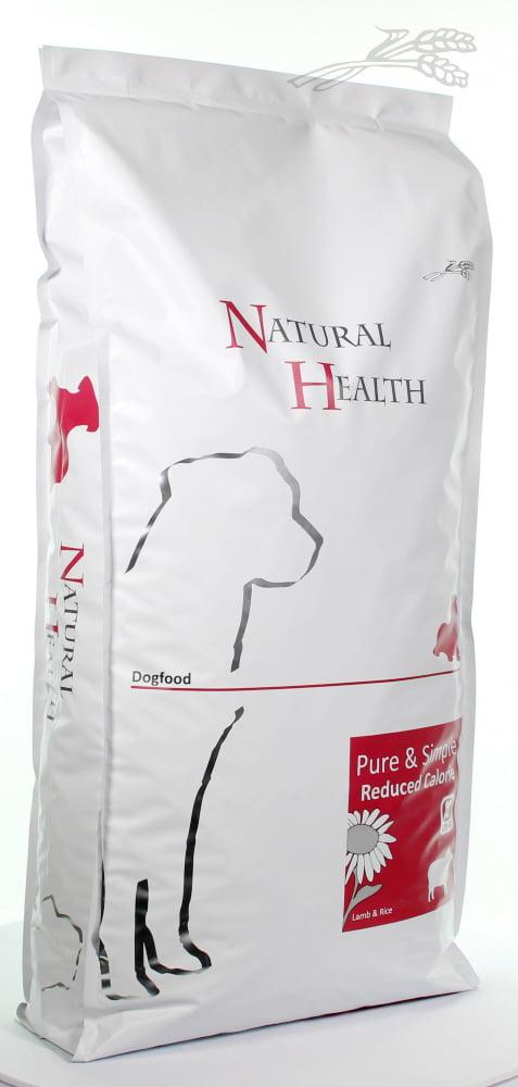 Natural Health Dog Lamb & Rice Reduced Calorie 12,5kg
