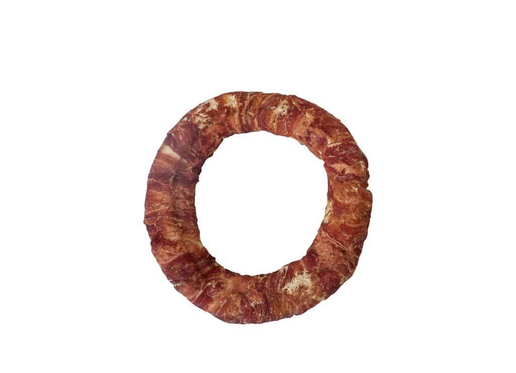 Meervoordieren Gepofte Ring met Eend 12,5cm 10st