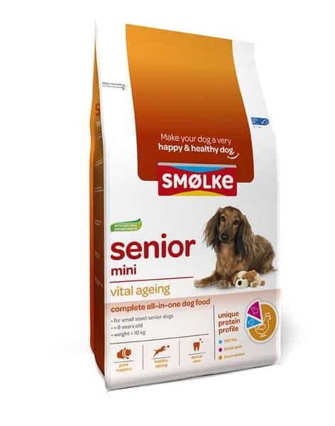 Smolke Hond Senior Mini 12kg